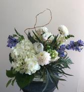 Peacefully  Whispy Vase Arrangement
