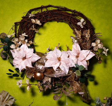 Soft Winter Wreath
