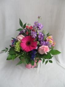 Softly Spoken Fresh Vased Arrangement