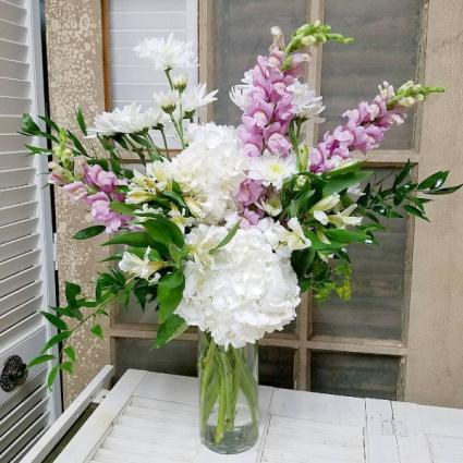 Softly Sweet Vase Arrangement