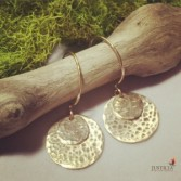 Solar Eclipse Earrings  By Justicia