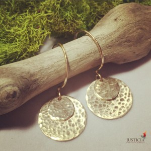 Solar Eclipse Earrings  By Justicia in Bend, OR | AUTRY'S 4 SEASONS FLORIST