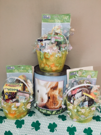 Some bunny luv Asst candy and decor basket