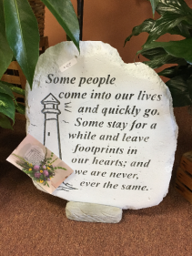 Some People Come Into Our Lives Memorial Stone