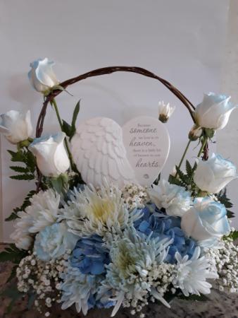 Someone in Heaven  Angel Wing keepsake