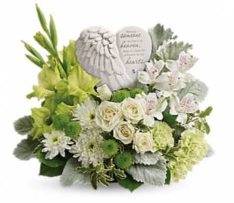 Someone in Heaven Tabletop with keepsake heart