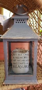 Someone You Love Becomes A Memory Mini Lantern