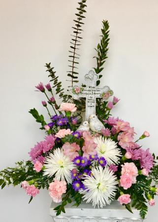 treasured Memories Gift in flowers