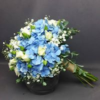 Something Blue Bridal or Brides Maid Bouquet