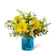 Something Blue vase in Claremont, New Hampshire | FLORAL DESIGNS BY LINDA PERRON