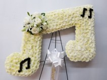 song of our heart   music note flowers