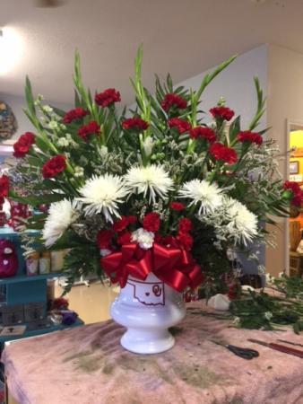Sooner Forever Funeral Flowers