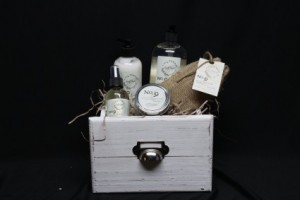 Soothing Body Products Gift Basket in North Platte, NE | PRAIRIE FRIENDS & FLOWERS