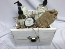 Soothing Body Products Gift Basket