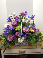 Soothing Memories Basket Arrangement