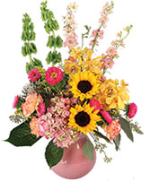 Soothing Sunflowers Floral Design