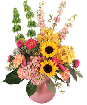 Soothing Sunflowers Floral Design in Desoto, TX | DE SOTO FLORIST