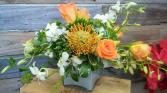 Sophia Cube Vase Arrangement