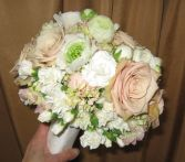 sophisticated lady wedding bouquet
