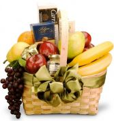 SOPHISTICATED TASTES GOURMET & FRUIT BASKET