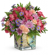 Sophisticated Whimsy Bouquet T21M410A Teleflora