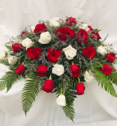 Sorrow of Love Lost Casket Flowers