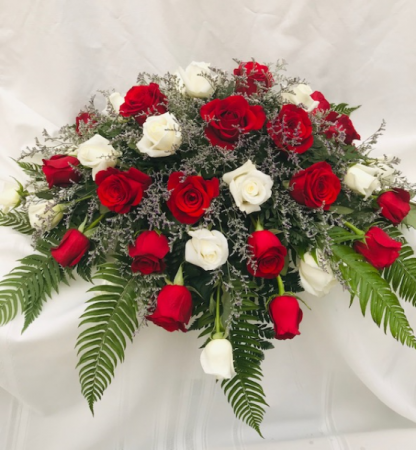 Love Lost Casket Flowers