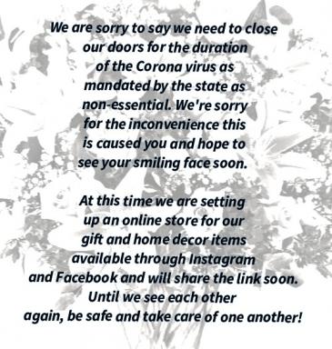 Sorry to close