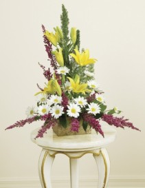 Soulful Memory Bouquet sympathy arrangement