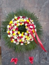 garden of sunlight  wreath