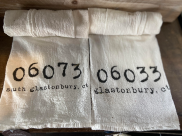 South Glastonbury Tea Towel South Glastonbury Tea Towel