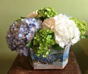 Southern Hospitality Hydrangea Arrangement Mothers Day in La Porte, TX | Compton's Florist