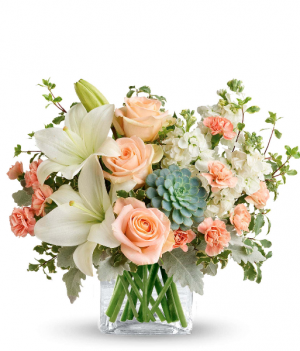 Southern Peach Bouquet  in Forney, TX | Kim's Creations Flowers, Gifts and More