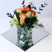 Modern Classic Peach  Bouquet