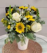 Southern Sunshine Vased Arrangement