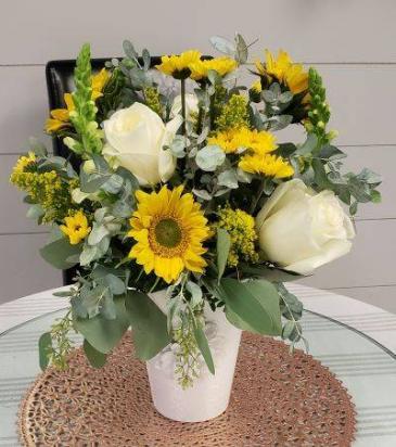 Southern Sunshine Vased Arrangement