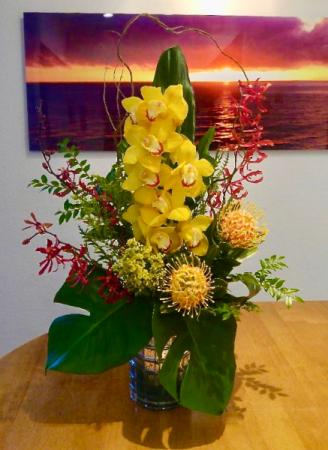California Sunset Flower Arrangement
