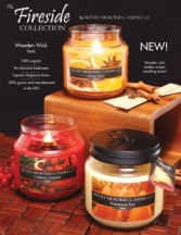 Fireside Wood Wick Soy Candles Gifts