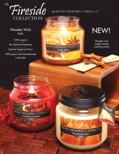 Fireside Wood Wick* Scented Candle in Whitesboro, NY | KOWALSKI FLOWERS INC.