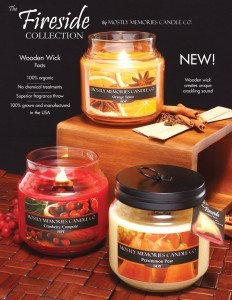 Fireside Wood Wick* Scented Candle