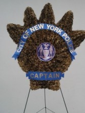 SP28 NYPD Captain Shield