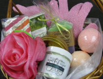 Spa Basket Gift Basket