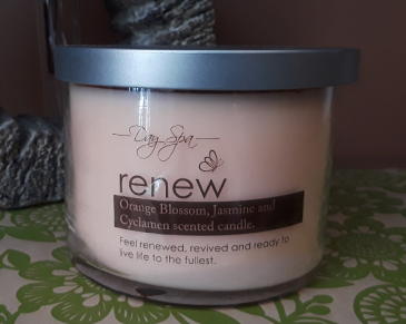 Spa Candle- Renew Gift