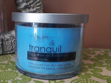 Spa Candle -Tranquil Gift