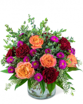 Spanish Flamenco Flower Arrangement