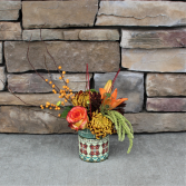 Spanish Nights Fall Flower Arrangement