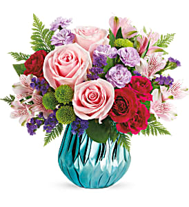 Sparkle And Bloom Bouquet in Winnipeg, MB | Ann's Flowers & Gifts