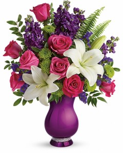 Sparkle and Shine Keepsake Bouquet in Granville, NY   The Florist at Mandy's Spring