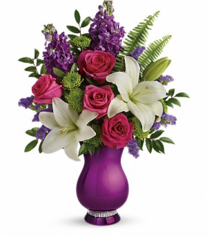 Sparkle and Shine Vase in Los Angeles, CA | California Floral Company