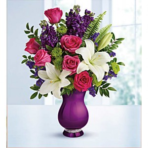 Sparkle and Shine Vase Arrangement